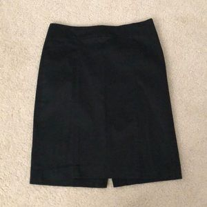 Loft black pencil skirt - perfect for work!